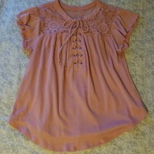 No Boundaries Tops - 5 for $25 Pink Top